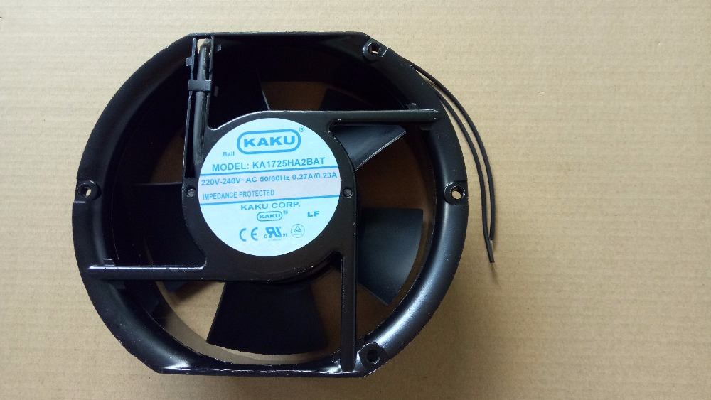 New KAKU KA1725HA2BAT 2V cooling fan