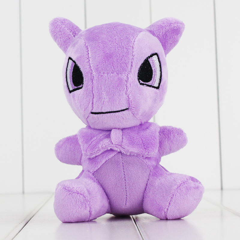 1 st 15cm Ny Anime Kawaii Mew Mewtwo Mjuk Plysch Toy Fylld Dock Barn Leksaker