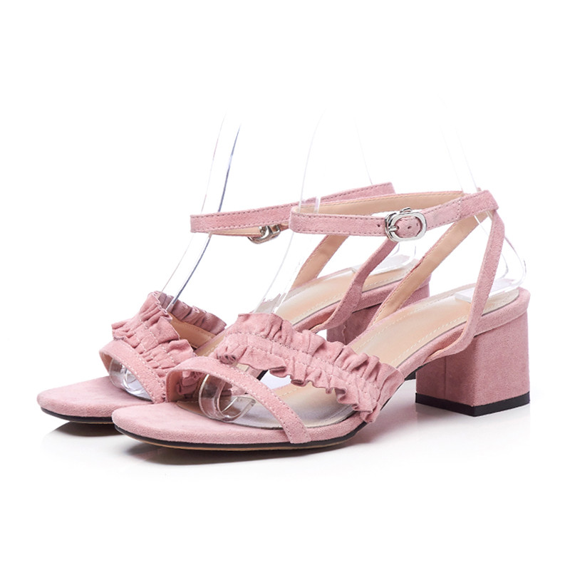 LOVEXSS Peep Toe Genuine Leather Sandals Sexy Party Gray Pink Black Ball Pumps Cow Leather Wedding Open Toe High Heeled Shoes lovexss genuine leather sandals heel wedding party square toe black pink pumps high woman shoes plus size 33 43 sandals 2017
