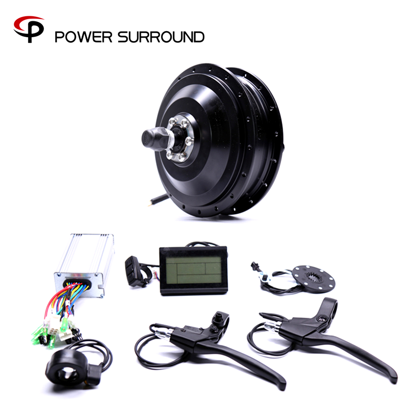 2018 48v500w Bafang Front/rear Electric Bike Conversion Kit Brushless Hub Motors Motor Wheel EBike system eunorau 48v500w electric bicycle rear cassette hub motor 20 26 28 rim wheel ebike motor conversion kit