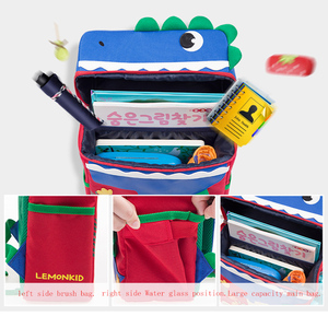 Image 3 - Школьная сумка рюкзак с изображением животных из мультфильма для девочек и мальчиков, Детский Рюкзак mochila, Детская сумка, ортопедический рюкзак