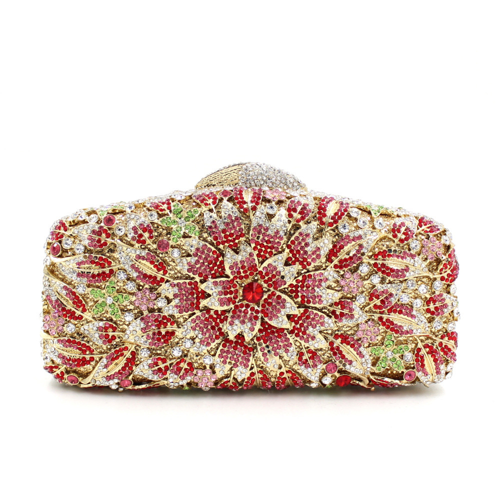 Women Flower Crystal Evening Bag Wedding Party Clutch Purse Handbags Pink Blue Black And Green SMYZH-F0338 danly the railroad in american art – representations of technological change