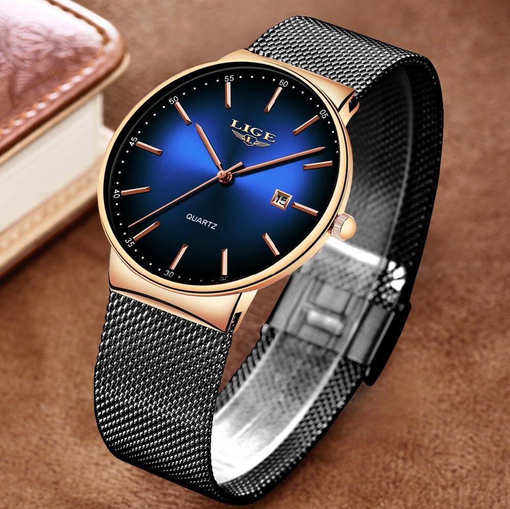 HTB1A9VeTNTpK1RjSZFMq6zG VXa2 LIGE Sports Date Mens Watches Top Brand Luxury Waterproof Fashion Cool Watch Men Ultra Thin Dial Quartz Watch Relogio Masculino