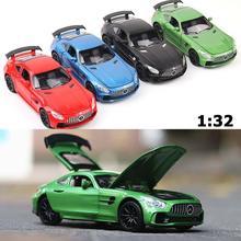 Brand 1:32 Alloy Car High Simulation AMG GTR Model Sports Ca