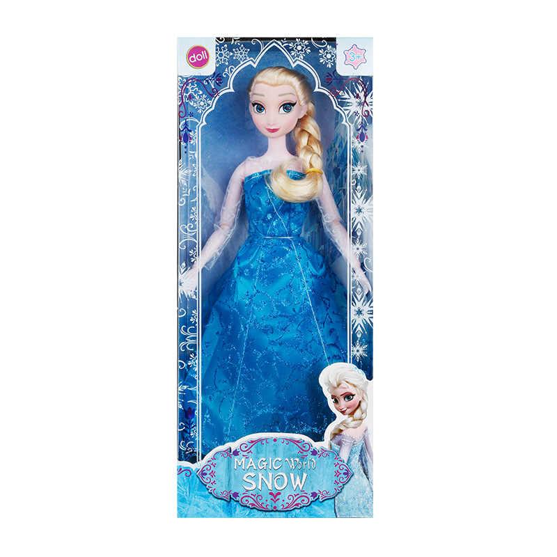 Кукла из мультфильма Дисней Холодное сердце, Снежная королева, Анна, Эльза, персонаж, экшн-модель, игрушки для детей, девочек, подарок на день рождения, игрушки