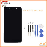 Black Full LCD Display Touch Screen Digitizer Assembly For Alcatel One Touch Idol 3 4 7