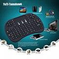 Подсветка i8 Беспроводной Игровой Мини-Клавиатура 2.4 Г Fly Air Mouse для Smart TV Портативных ПК Android Smart Box TV IPTV PSP