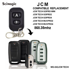 JCM TECH GOPro-2,JCM TECH GOPro-4 replacement garage door remote control,Universal JCM 868MHZ remote transmitter(China)