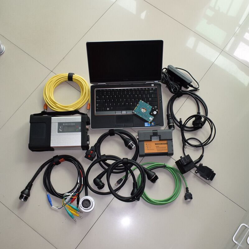 mb star c5 for bmw icom a2 with software 2in1 hdd 1tb with laptop e6320 i5 4g all cables full set best quality diagnostic