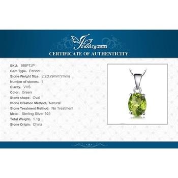 Natural lime Green Pendant Necklace Sterling Silver Gemstones Statement Necklace  5