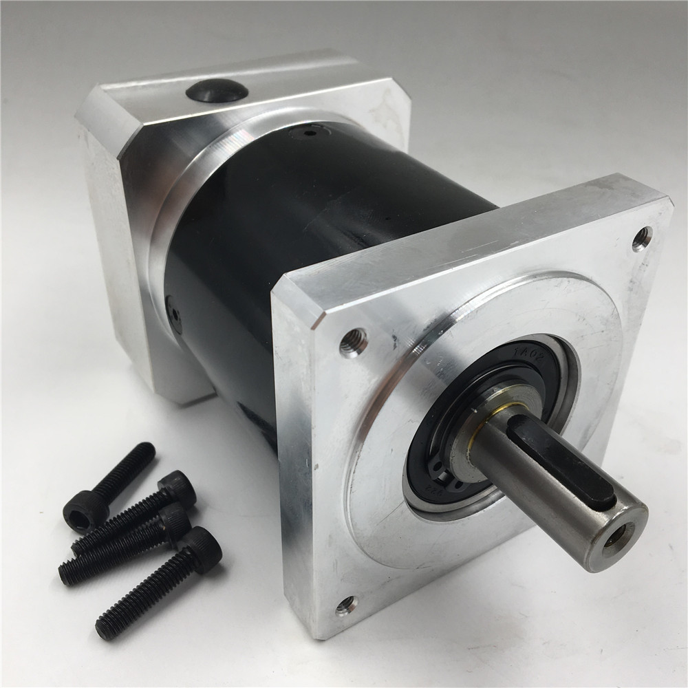 Output Shaft 16mm Nema34 Planetary Geared Ratio 10:1 L121mm Gearbox Speed Reducer CNC nema34 stepper motor planetary geared ratio 5 1 output shaft 16mm l121mm gearbox speed reducer cnc router machine