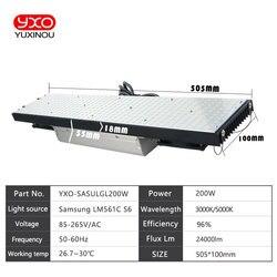 Samsung LM561C S6 ściemniania lampa led do uprawy roślin led smd oświetlenie do uprawy pełne spektrum lampa do uprawy roślina doniczkowa wzrostu oświetlenie panelu