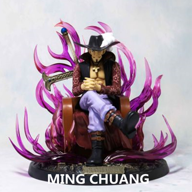 ONE PIECE Seven Warlords Of The Sea Dracule Mihawk PVC 20CM Action Figure Collectible Model Toy BOX Christmas Present Z142ONE PIECE Seven Warlords Of The Sea Dracule Mihawk PVC 20CM Action Figure Collectible Model Toy BOX Christmas Present Z142