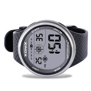 Image 2 - Mens Sports Watches Self Calibrating Digital Watch Waterproof 100m Multifunctional Swim Diver Outdoor Wristwatch