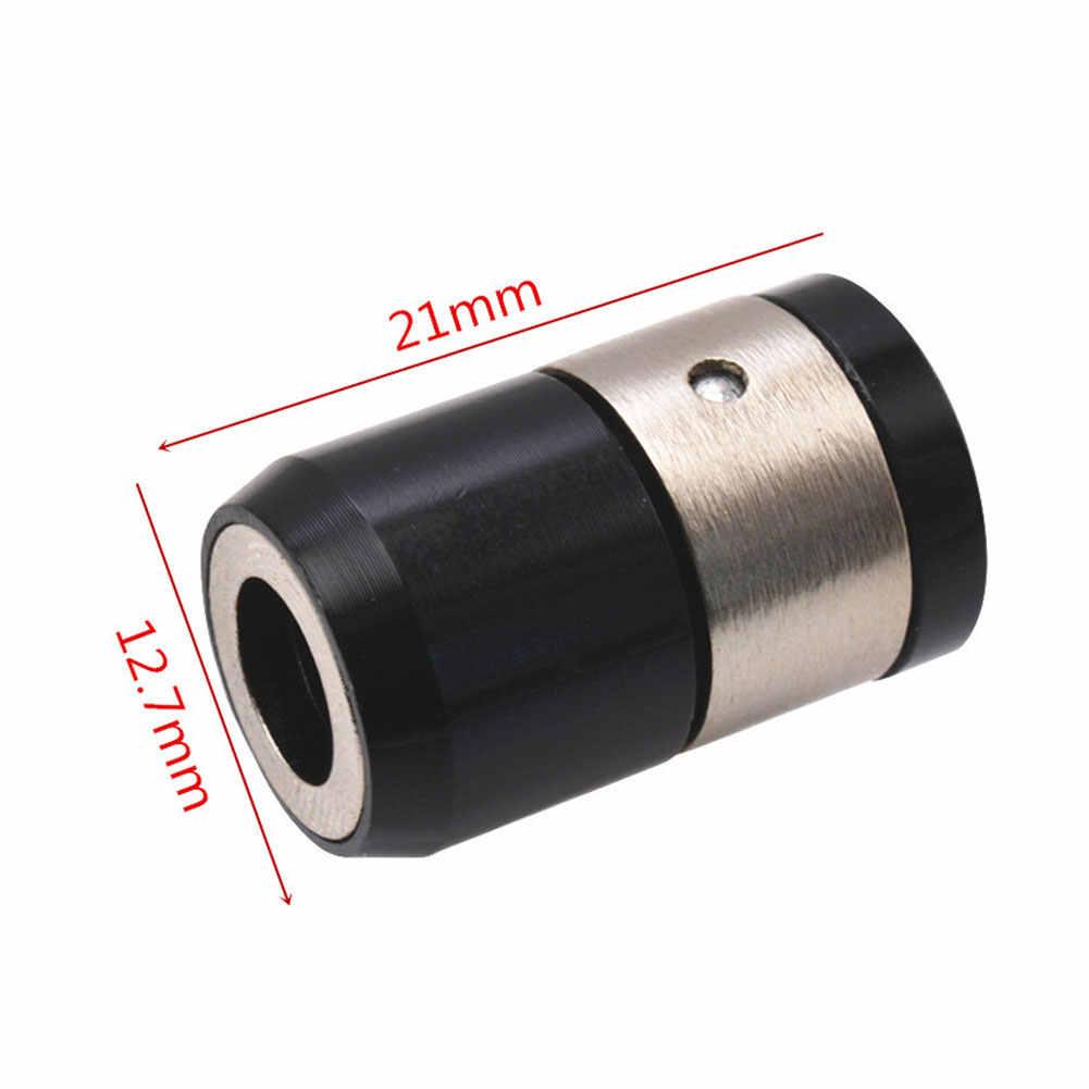 מתכת מגנטי טבעת אלומיניום סגסוגת חשמלי מגנטי טבעת מברג ביטים נגד קורוזיה מתכת חזק Magnetizer בורג