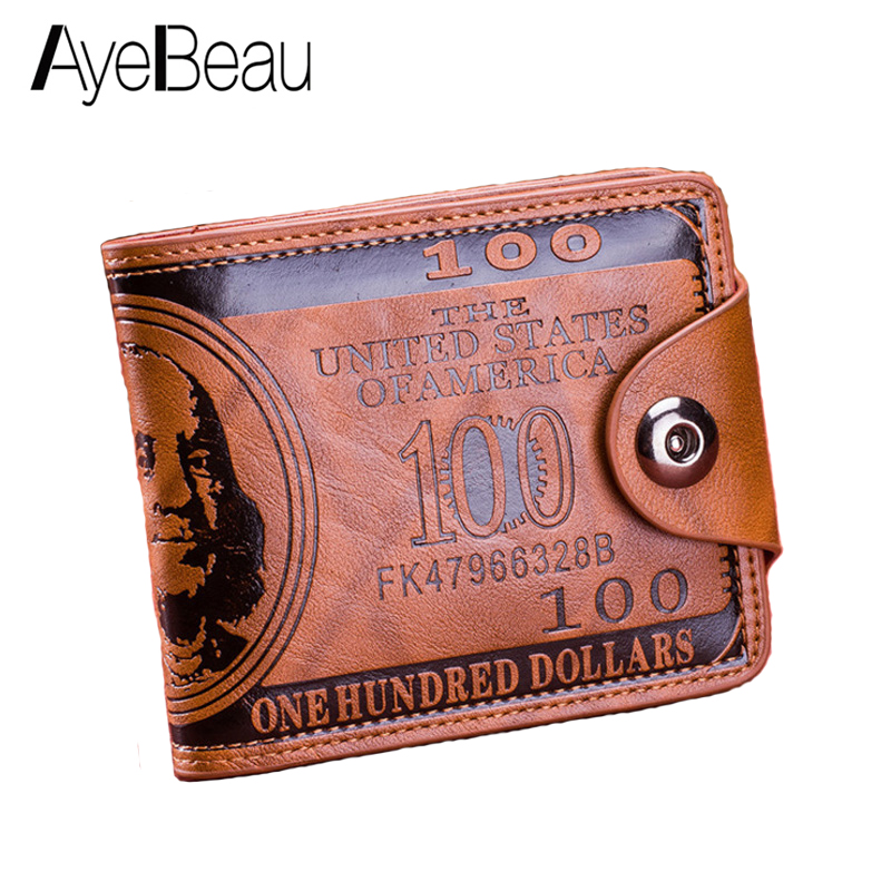 Short For Men Wallet Male Purse Money Bag Portomonee Walet Partmone Kashelek Portmann Klachi Vallet Kashelki Partmane Koshelok