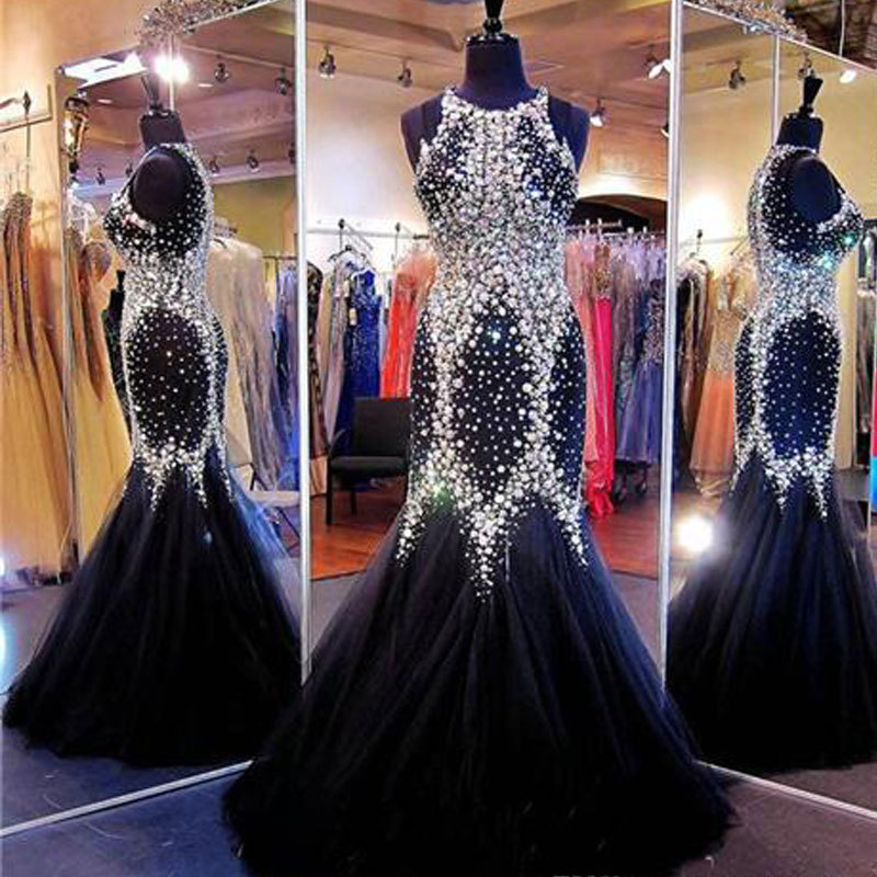 a03e36f42190 IM227 Online Shopping Off Shoulder Sexy Mermaid Evening Dress 2016 Black  New Design Long Prom Dress Woman Gown Free Shipping-in Evening Dresses from  ...