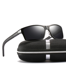 Sports Al-mg Shield Black Sun Glasses Polarized Sunglasses Custom Made Myopia Minus Prescription Lens -1 to -6