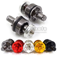 High Quality Motorcycle Aluminum Titiuam CNC Preload Fork Cap Adjusters For Yamaha YZF R3 2015 YZ