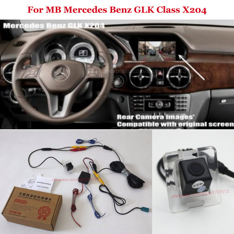 Car Video 2013-2015 Mercedes-benz Glk-class X204 Rearview Camera Interface Other Parts Handle Camera Last Style