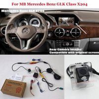 Car Rear View Camera For Mercedes Benz GLK Class X204 Back Up Reverse Camera RCA & Original Screen Compatible