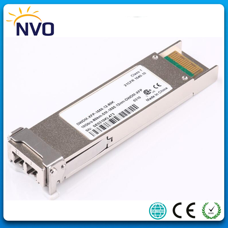 LODFIBER XFP-10G-BX80U-I//XFP-10G-BX80D-I Cisco Compatible Pair of BiDi XFP 10G 80km Transceiver