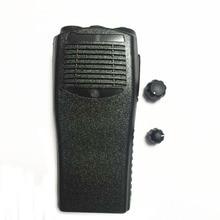 walkie talkie accessories shell for  motorola GP3188 Shell + perilla + tecla PTT + etiqueta trust 18048 tecla