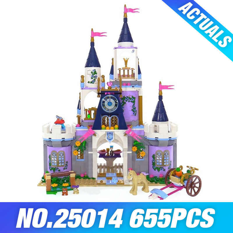 Lepin 25014 New Toys 655Pcs Movie Series The 41154 Dream Castle Set building Blocks Bricks Educational Funny Toys For Kids Gifts lepin 16017 castle series genuine the king s castle siege set children building blocks bricks educational toys model gifts