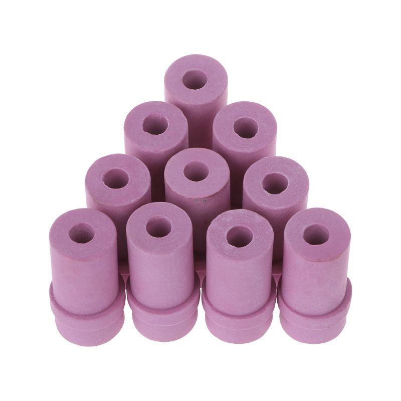 10Pcs Sandblaster Nozzles Air Siphon Sand Blasting Gun Ceramic Nozzle Tips 5/6mm