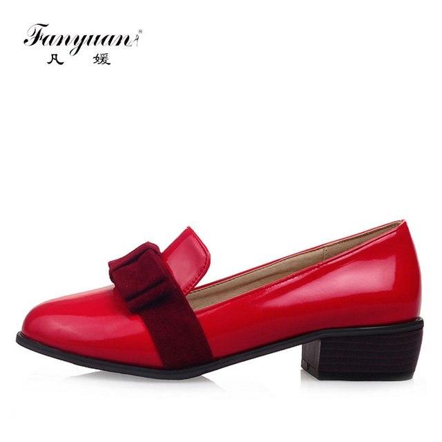 51169af6540 Fanyuan primavera mujeres zapatos mocasines Flats Creepers señoras calzado  plano para mujer Zapatos de vestir planos
