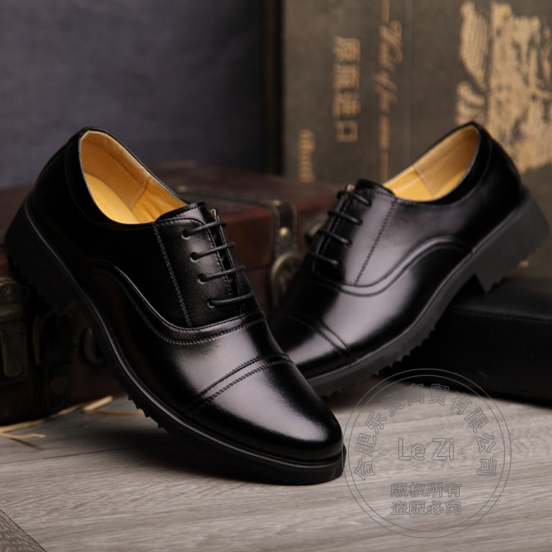 ФОТО Shoes For Men  Most Popular Leather  Mens Designer Shoes  Designer Brands Value China Thickness Bottom Wear-Resistant Pure Color