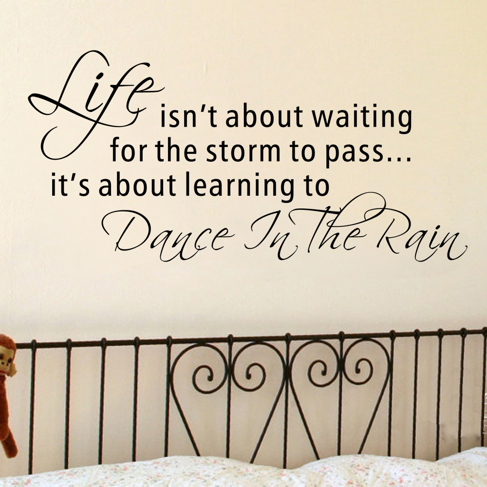 Life Isnt About Waiting For The Storm To Passits About Learning