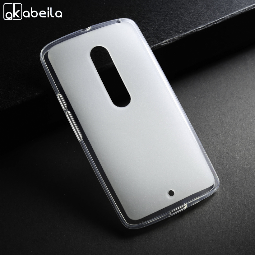 AKABEILA Phone Cover Case For Motorola Moto X Play X3 Lux X2 XT1562 Z Play Droid 2016 Z Force Edition Soft TPU Cases Cover Bags