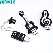Hot Music instrument Usb flash drive cheap pen drive 4gb 8gb 16gb USB Stick memory 128GB 32gb 64gb Pendrive U Disk creative Gift