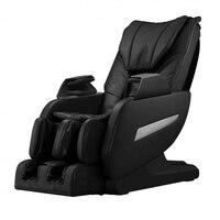 Онлайн тренажерный зал магазин CB17261 всего тела 3D шиацу невесомости массажное кресло L трек тепло черный