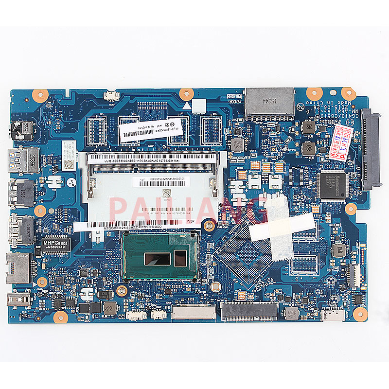 Laptop motherboard for Lenovo Ideapad 100 15IBD I5 5200U PC Laptop Mainboard 5B20K25458 CG410 CG510 NM