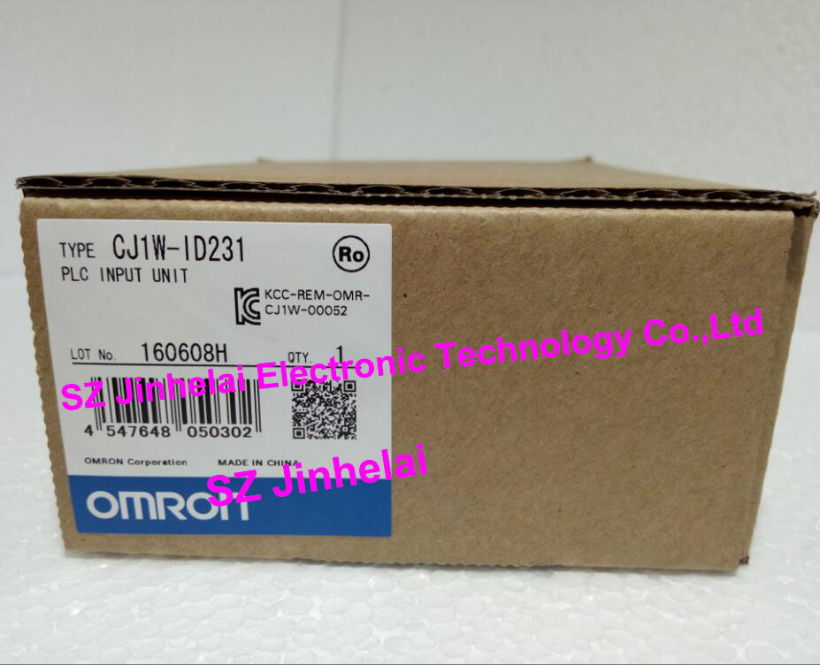 CJ1W-ID231 New and original OMRON PLC INPUT UNIT new original cj1w ph41u plc 4 input point process input units