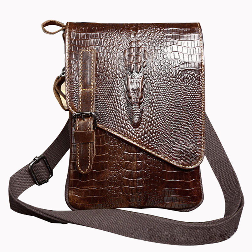 a40c42d40387 IVOTKOVA Brand Men Messenger Bag Genuine Leather Male Shoulder Bag Handbag  Casual Dragon Small Purses Men s Bag Drop Shipping-in Crossbody Bags from  Luggage ...