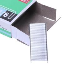 1000 шт./кор. 24/6 металлические скобы для степлера, офисные и школьные принадлежности канцелярские