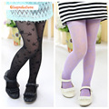 Girl's Tights Pantyhose Flower Print Pattern Fashion 8 Colors Thin Children Girls Kids Silk Stockings Tights YXE007