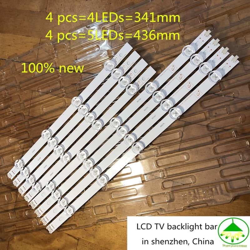 100 NEW 8Piece Lot Full LED strip for LG 39 TV 39LN5100 INNOTEK POLA2 0 39LN5300