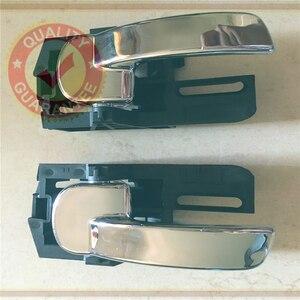 Image 2 - 80671 jd00e 80670 jd00e 닛산 qashqai j10 (04 13) 도어 손 내부 왼쪽 오른쪽 내부 핸들 세트 크롬
