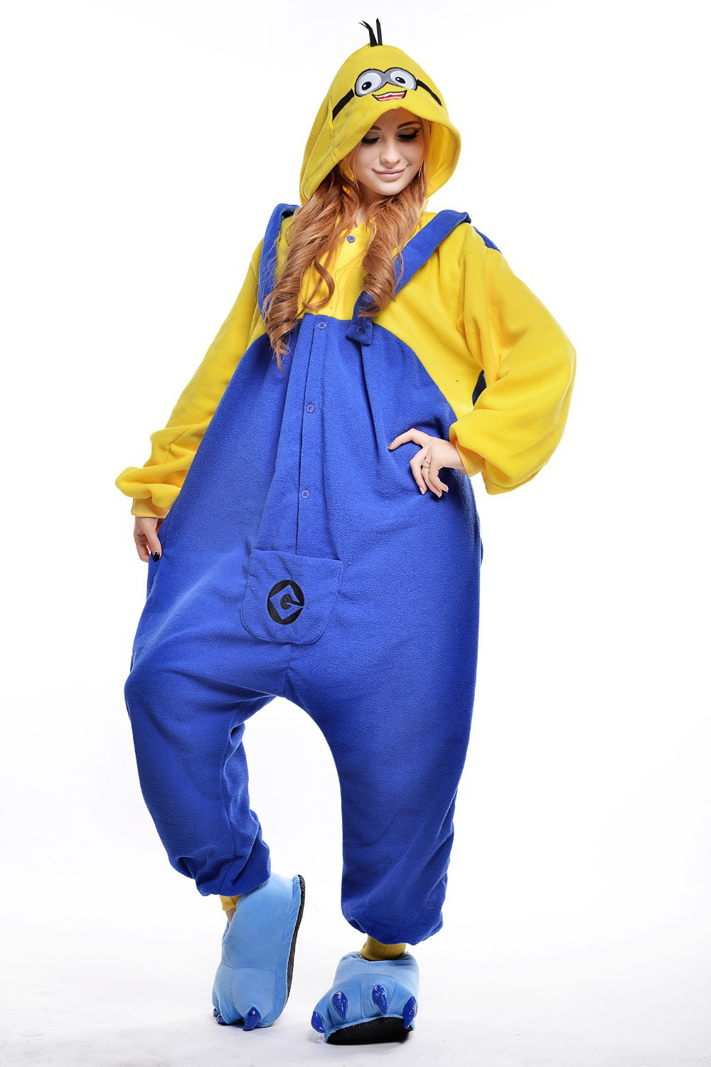 Aliexpress.com : Buy Minion Costume/ Plus Size Halloween Costume ...