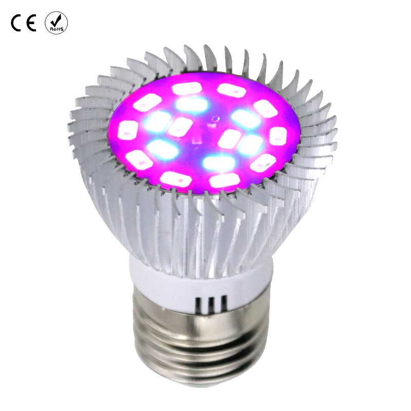 Полный спектр E27 завода светать AC85-265V светодиодные лампы рассады E14 SMD5730 завод лампы для гидропоники цветы растения овощи