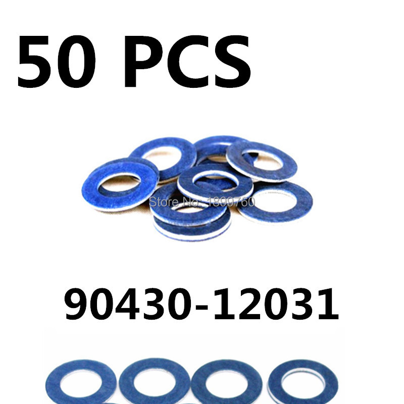 Back To Search Resultsautomobiles & Motorcycles 50 Pc Car Oil Drain Plug Gasket For Toyota Rav4 Camry Prius Land Cruiser Hiace For Lexus Is200/300 Es300 Sc430 Gs300 90430-12031 High Safety Auto Replacement Parts