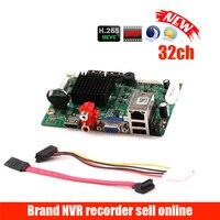 32CH 1080 P CCTV NVR Bord HI3536 2 SATA Ports ONVIF Sicherheit Video Recorder Bord 32CH 1080 P/25CH 5MP Video Eingang 1CH Audio-in Überwachungsvideorekorder aus Sicherheit und Schutz bei