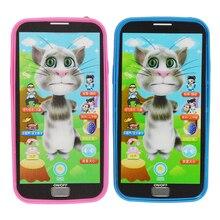 Игрушка телефон симулятор музыкальный телефон игрушки, музыкальный инструмент сенсорный экран мобильного телефона развивающие Обучающие Игрушки для маленьких мальчиков и девочек