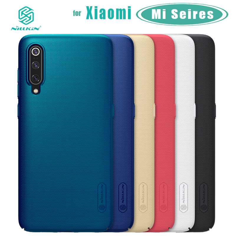Nillkin for Xiaomi Mi 9 Pro 9T Pro Mi 8 SE A3 CC9 Case Frosted Shield Hard Back Cover for Xiaomi Mi9 SE Lite 9T Pro Mi 8 Mi5 Mi6