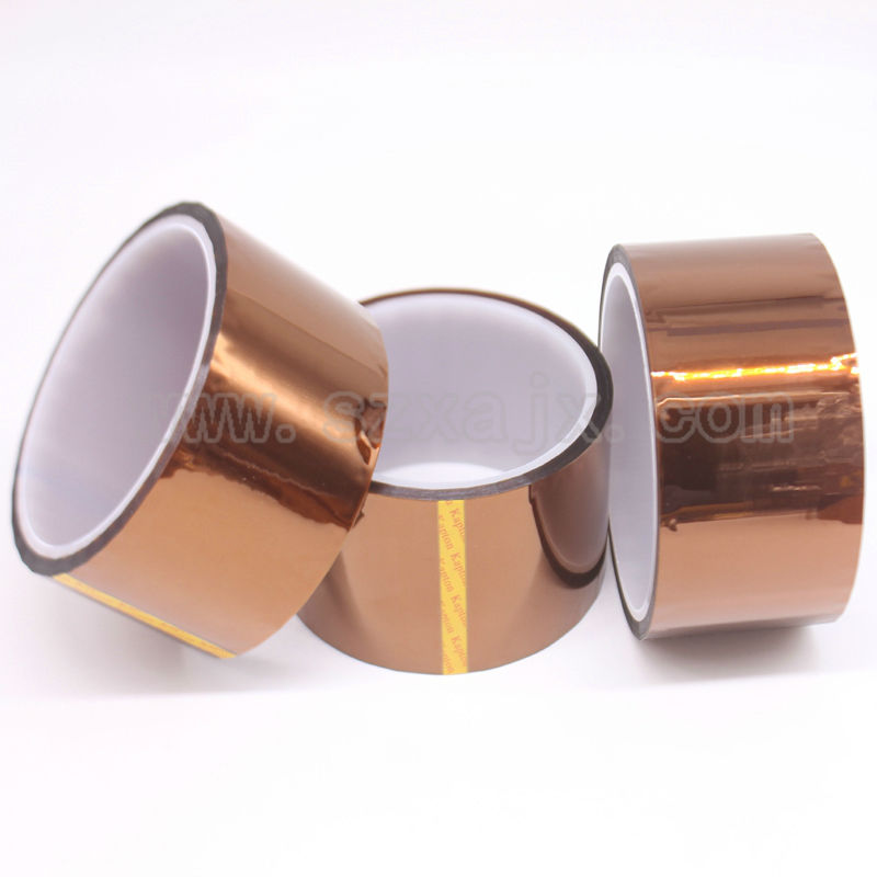 50mm X 33m 100ft Kapton Tape High Temperature Heat Resistant Polyimide fast ship 55mm x 33m 100ft kapton tape high temperature heat resistant polyimide fast ship