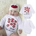Baby Boy Одежда Белый Новорожденных Детской Одежды Комбинезон С Длинным Рукавом Комбинезоны для Новорожденных Тела Комбинезон